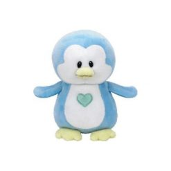 Maskotka TY INC Baby Ty  Twinkles - Niebieski Pingwin. Niebieskie przytulanki i maskotki marki TY INC, z materiału. Za 24,99 zł.
