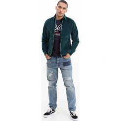 Jeansy męskie regular: Edwin ED45 LOOSE TAPERED Jeansy Relaxed Fit destroyed denim