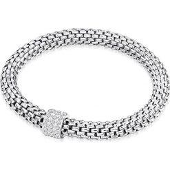 Bransoletki damskie na nogę: Powlekana bransoletka z kryształkami