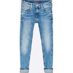 Pepe Jeans - Jeansy dziecięce 122-176. Niebieskie jeansy chłopięce marki Pepe Jeans. W wyprzedaży za 199,90 zł.