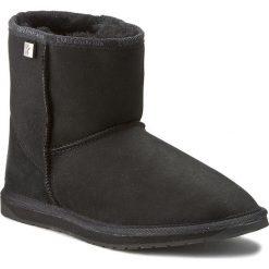 Buty EMU AUSTRALIA - Platinum Stinger Mini WP10003 Black. Czarne buty zimowe damskie EMU Australia, ze skóry, na niskim obcasie. Za 679,00 zł.
