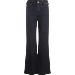 Spodnie - Slim fit - w kolorze granatowym. Niebieskie spodnie z wysokim stanem Scottage, w paski. W wyprzedaży za 86,95 zł.