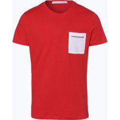 Calvin Klein Jeans - T-shirt męski, czerwony. Czarne t-shirty męskie marki Calvin Klein Jeans, z bawełny. Za 129,95 zł.