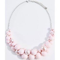 Naszyjniki damskie: Naszyjnik z ekologicznymi perłami – Różowy