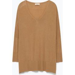 """T-shirty damskie: Koszulka """"Brilliant"""" w kolorze brązowym"""