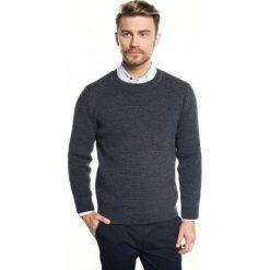 Sweter farley półgolf granatowy. Szare swetry klasyczne męskie marki Recman, m, z długim rękawem. Za 219,00 zł.