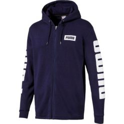 Sportowa kurtka ze stójką. Szare kardigany męskie marki La Redoute Collections, m, z bawełny, z kapturem. Za 478,80 zł.