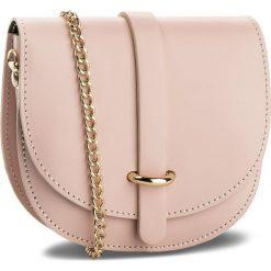 Torebka CREOLE - K10466 Różowy. Czerwone torebki klasyczne damskie Creole, ze skóry. Za 99,00 zł.