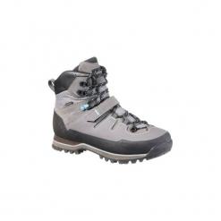 Buty trekkingowe wysokie TREK 700 damskie. Niebieskie buty trekkingowe damskie marki FORCLAZ. Za 499,99 zł.
