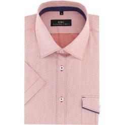 Koszula APPOLINARE 16-01-27-K. Brązowe koszule męskie na spinki marki FORCLAZ, m, z materiału, z długim rękawem. Za 169,00 zł.