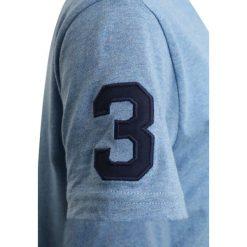 Polo Ralph Lauren BIG Tshirt z nadrukiem soft royal heather. Niebieskie t-shirty chłopięce Polo Ralph Lauren, z nadrukiem, z bawełny. Za 149,00 zł.