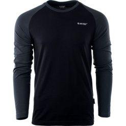 Bluzy męskie: Hi-tec Bluza męska Puro LS Black/Dark Grey r. XXL