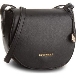 Torebka COCCINELLE - CF5 Clementine E1 CF5 15 02 01 Noir 001. Brązowe listonoszki damskie marki Coccinelle, ze skóry. Za 949,00 zł.