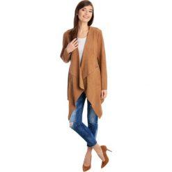 Płaszcze damskie pastelowe: Płaszcz skórzany - COSIMA GS CAM