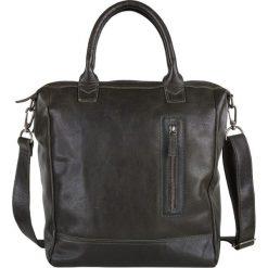 """Torby na laptopa: Skórzana torebka """"Georgio"""" w kolorze oliwkowo-brązowym – 42 x 38 x 14 cm"""