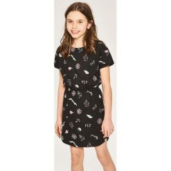 Sukienki dziewczęce: Bawełniana sukienka – Czarny