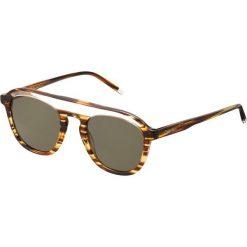 Okulary przeciwsłoneczne męskie: Calvin Klein Okulary przeciwsłoneczne medium horn