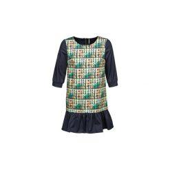 Sukienki krótkie Naf Naf  ECAPS. Szare sukienki mini marki NAF NAF, z krótkim rękawem. Za 319,20 zł.