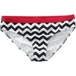 Stroje kąpielowe damskie: Banned Black Coffee Bottom Bikini – dół czarny/biały