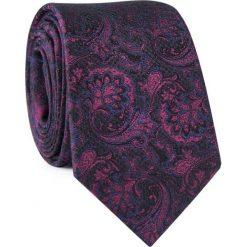 Krawat jedwabny KWAR000322. Szare krawaty męskie marki Reserved, w paski. Za 129,00 zł.