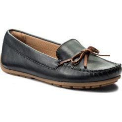 Mokasyny damskie: Mokasyny CLARKS - Dameo Swinig 261328854 Nevy Leather
