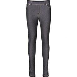"""Legginsy o wyglądzie dżinsów bonprix czarny """"stone"""". Czarne legginsy we wzory bonprix, z jeansu. Za 79,99 zł."""