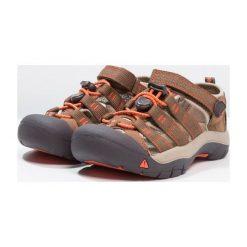 Keen NEWPORT H2 Sandały trekkingowe dark earth/spicy orange. Czerwone sandały chłopięce marki Keen, z materiału. Za 239,00 zł.