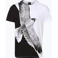 BOSS Casual - T-shirt męski – Talcon, czarny. Czarne t-shirty męskie BOSS Casual, m, z bawełny. Za 349,95 zł.