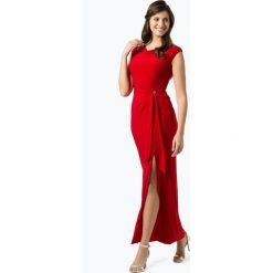 LAUREN RALPH LAUREN - Damska sukienka wieczorowa – Shayla, czerwony. Czarne sukienki balowe marki Lauren Ralph Lauren, uniwersalny, z kontrastowym kołnierzykiem. Za 999,95 zł.
