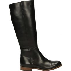 Kozaki - 371005FY N J8. Czarne buty zimowe damskie marki Venezia, ze skóry. Za 499,00 zł.