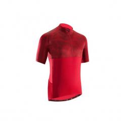 Koszulka na rower MTB ST 500 V2 męska. Czerwone odzież rowerowa męska marki Nike, s, z poliesteru. Za 79,99 zł.