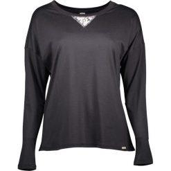 Piżamy damskie: Koszulka piżamowa w kolorze czarnym