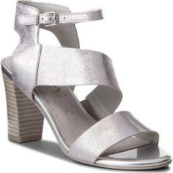 Sandały damskie: Sandały CAPRICE – 9-28315-30 Silver Metal 920