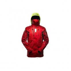 Kurtka żeglarska Ocean 900 męska. Czerwone kurtki męskie TRIBORD, l, z materiału. Za 849,99 zł.
