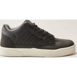 Buty skate męskie: Sportowe buty na grubej podeszwie - Czarny