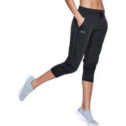 Spodnie sportowe damskie: Under Armour Spodnie dresowe damskie Threadborne czarne r. XL (1305423-001)