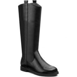 Buty zimowe damskie: Oficerki CLARA BARSON - WYL1073A-1 Czarny