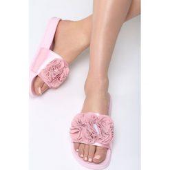 Klapki damskie: Różowe Klapki Talk To Me