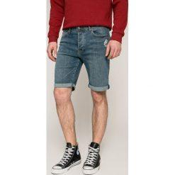 Bench - Szorty. Szare spodenki jeansowe męskie Bench, casualowe. W wyprzedaży za 139,90 zł.