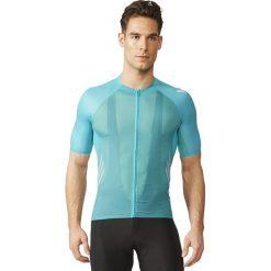 Adidas Koszulka rowerowa Adizero SS Jersey niebieska r. M (AI2805). Białe odzież rowerowa męska marki Adidas, l, z jersey, do piłki nożnej. Za 249,00 zł.