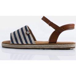 Rzymianki damskie: Sandały-espadryle