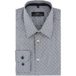 Koszula MARCO 15-10-02-K. Szare koszule męskie na spinki Giacomo Conti, m, z bawełny, z klasycznym kołnierzykiem, z długim rękawem. Za 299,00 zł.