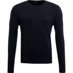 Swetry klasyczne męskie: Sisley Sweter anthrazit