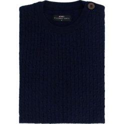 Sweter PIETRO W 15-48SR. Brązowe swetry rozpinane męskie Giacomo Conti, m, z wełny. Za 229,00 zł.