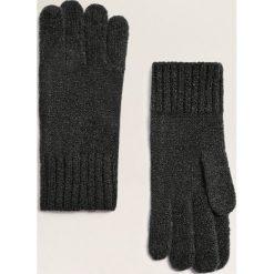 Mango - Rękawiczki Sammi. Czerwone rękawiczki damskie Mango, z dzianiny. Za 49,90 zł.