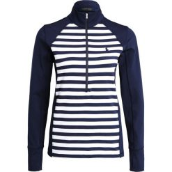 Polo Ralph Lauren Golf POWER STRETCH Bluzka z długim rękawem french navy/pure. Niebieskie topy sportowe damskie Polo Ralph Lauren Golf, xs, z elastanu, z długim rękawem. W wyprzedaży za 377,40 zł.