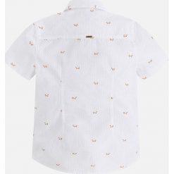 Mayoral - Koszula dziecięca 92-134 cm. Szare koszule męskie Mayoral, z bawełny, z klasycznym kołnierzykiem, z krótkim rękawem. Za 94,90 zł.