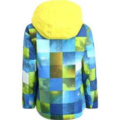 Quiksilver LITTLE Kurtka snowboardowa blue sulphur icey check. Niebieskie kurtki damskie narciarskie Quiksilver, z materiału. W wyprzedaży za 377,10 zł.