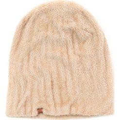 Czapka damska dwustronna Futrzana kraina beżowa. Brązowe czapki zimowe damskie Art of Polo, z futra. Za 36,52 zł.
