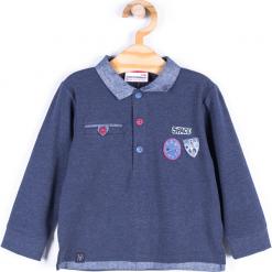 Koszulka. Niebieskie t-shirty chłopięce z długim rękawem CATRONAUTA, z bawełny. Za 19,90 zł.